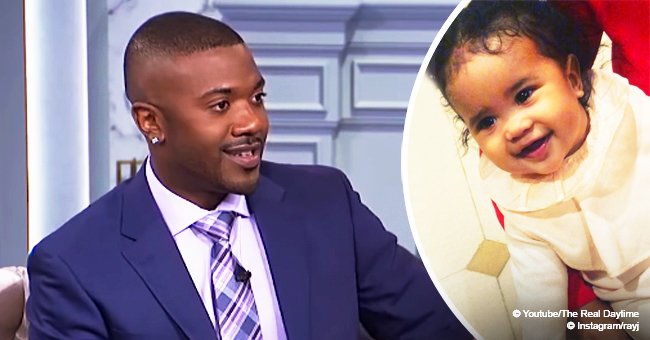 Ray J steals hearts with video of baby Melody smiling bright while trying to talk in precious video