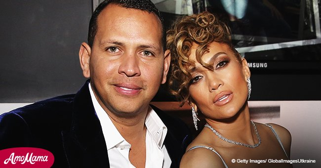 Jennifer Lopez and her beau Alex Rodriguez were spotted in matching white tops at recent outing