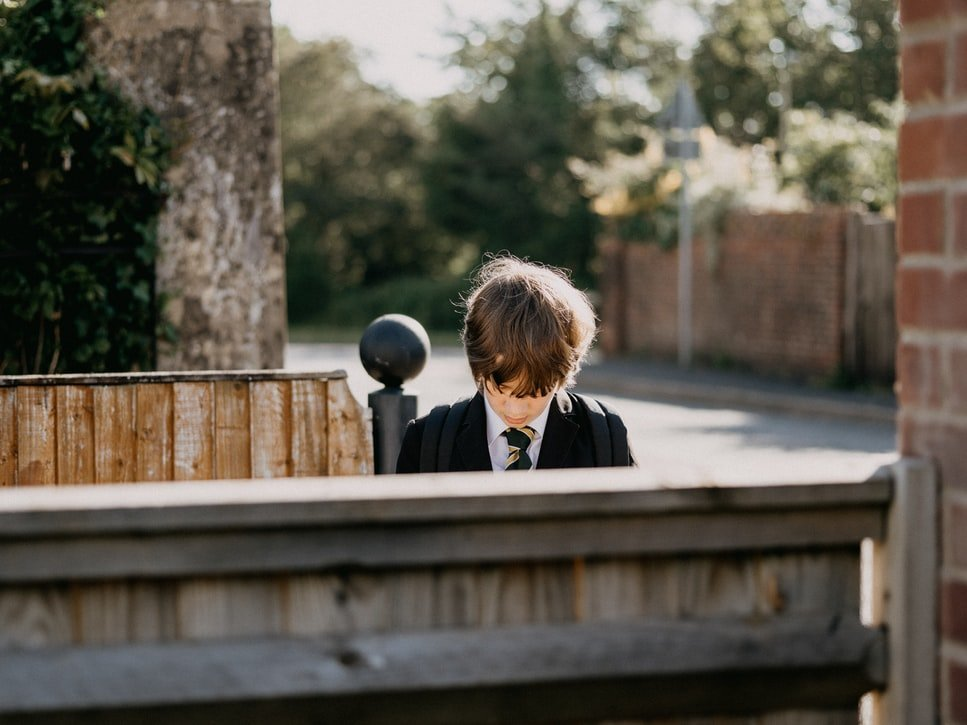 I looked beyond him at the tear-filled eyes of the boy | Source: Unsplash