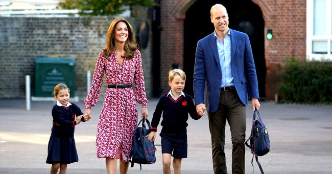Prince William Says He Teaches George and Charlotte about Homelessness during Their School Run