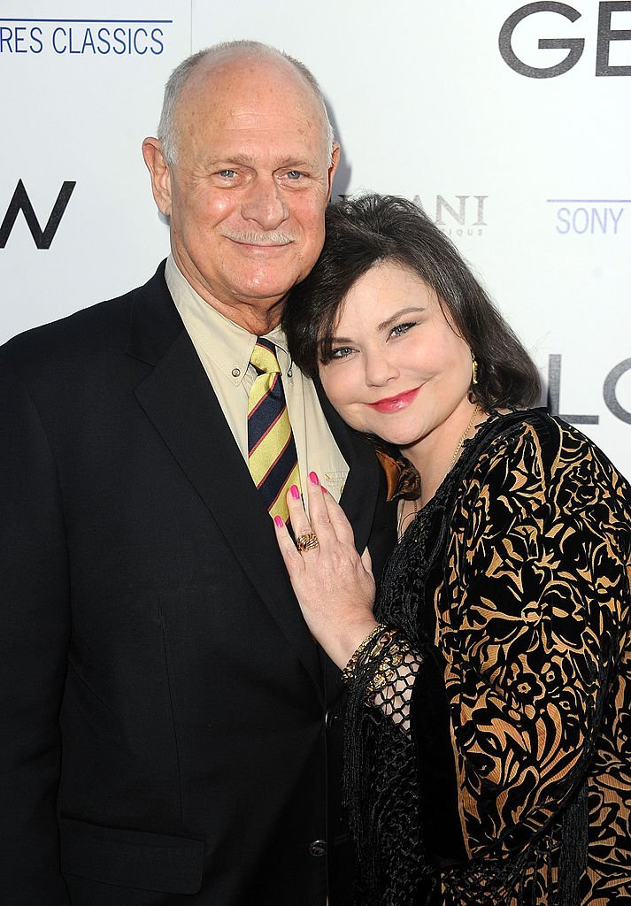 "Gerald McRaney (L) and actress Delta Burke arrive at AFI Associates & Sony Pictures Classics' premiere Of ""Get Low"" held at the Samuel Goldwyn Theater inside The Academy of Motion Picture Arts and Sciences 