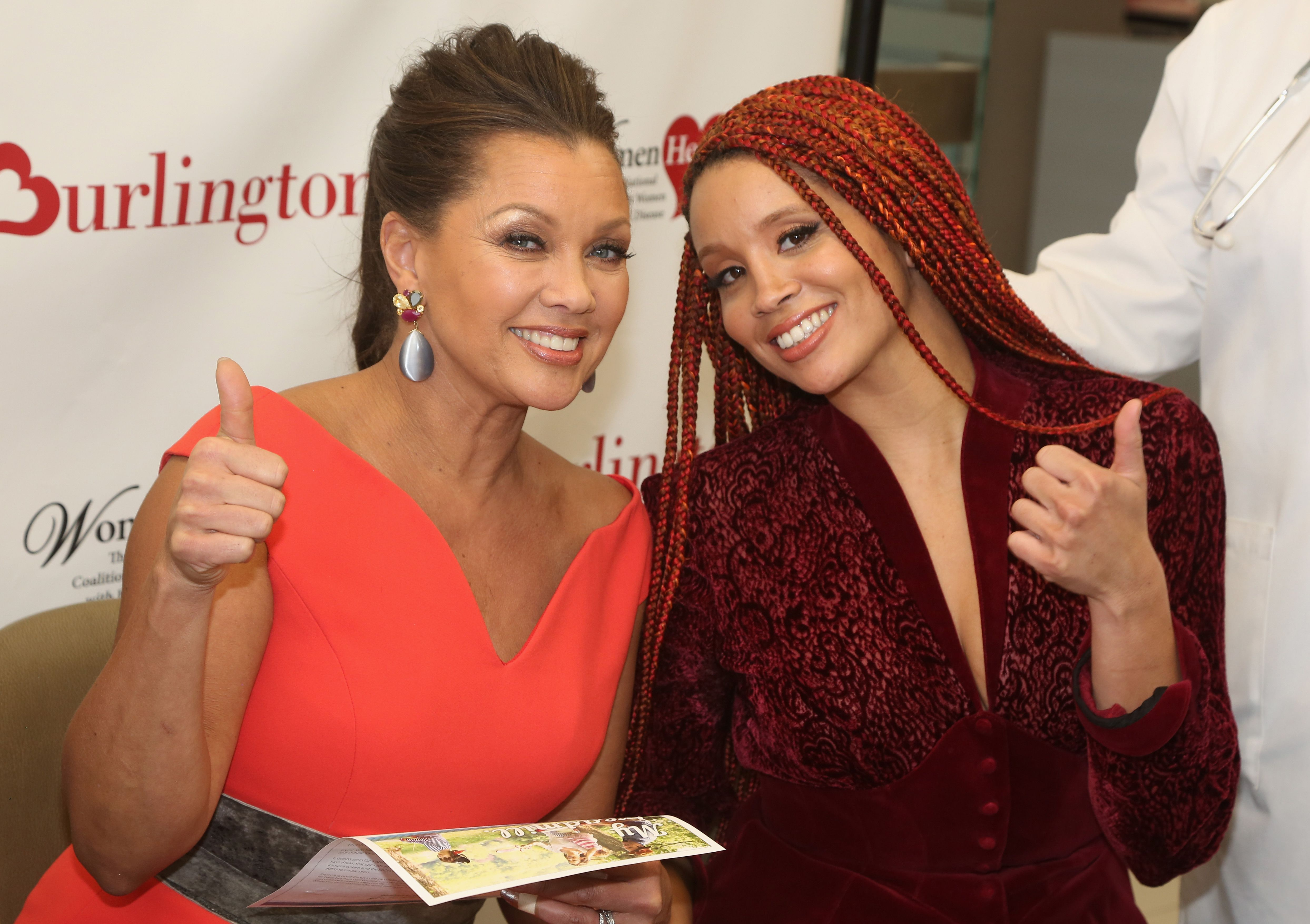 Vanessa Williams and daughter Jillian Hervey at the 7th Annual #KnockOutHeartDisease Campaign Launch in 2018 in New York City | Photo: Getty Images
