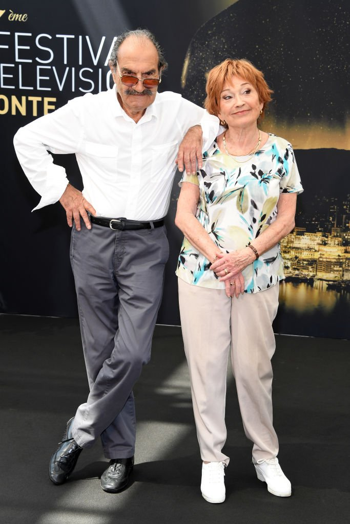 Marion Game et Gérard Hernandez. l Source : Getty Images