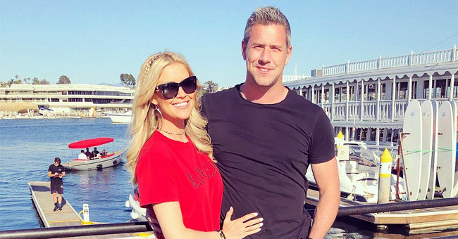 'Flip or Flop's Christina Anstead Shares Cute Pic of Newborn Baby Hudson London Going Home