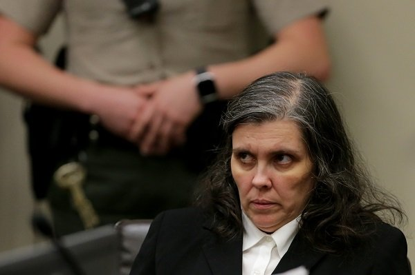 Louise Turpin in court on January 24, 2018 in Riverside, California | Source: Getty Images/Global Images Ukraine