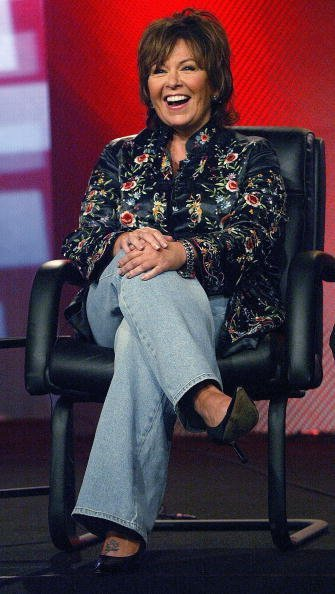 Roseanne Barr attends the ABC Summer Press Tour at the Hollywood Renaissance Hotel on July 14, 2003, in Hollywood, California. | Source: Getty Images.