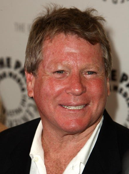 "Actor Ryan O'Neal arrives at the premiere of NBC Universal's ""Farrah's Story"" held at The Paley Center for Media on May 13, 2009, in Beverly Hills, California. 
