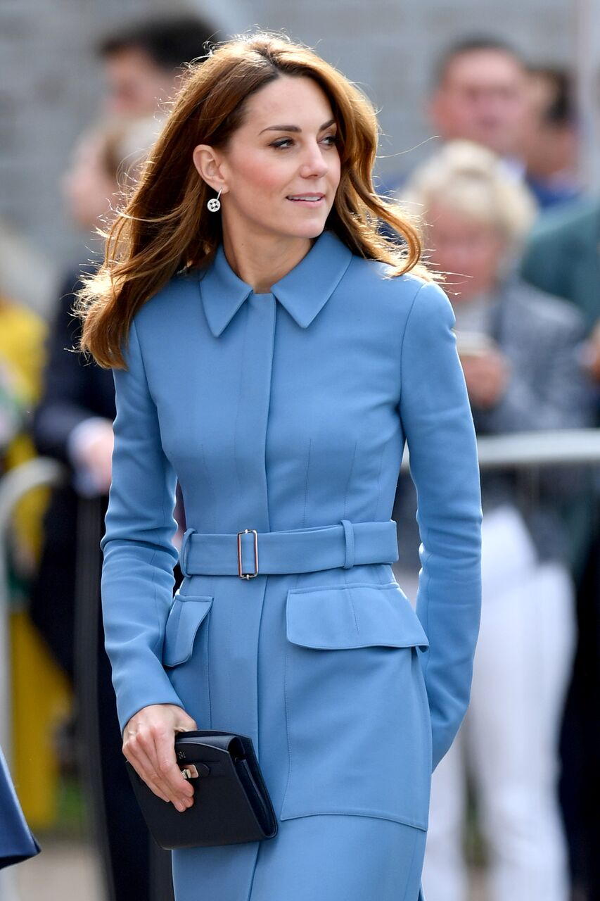 Kate Middleton attends the naming ceremony for The RSS Sir David Attenborough. | Source: Getty Images