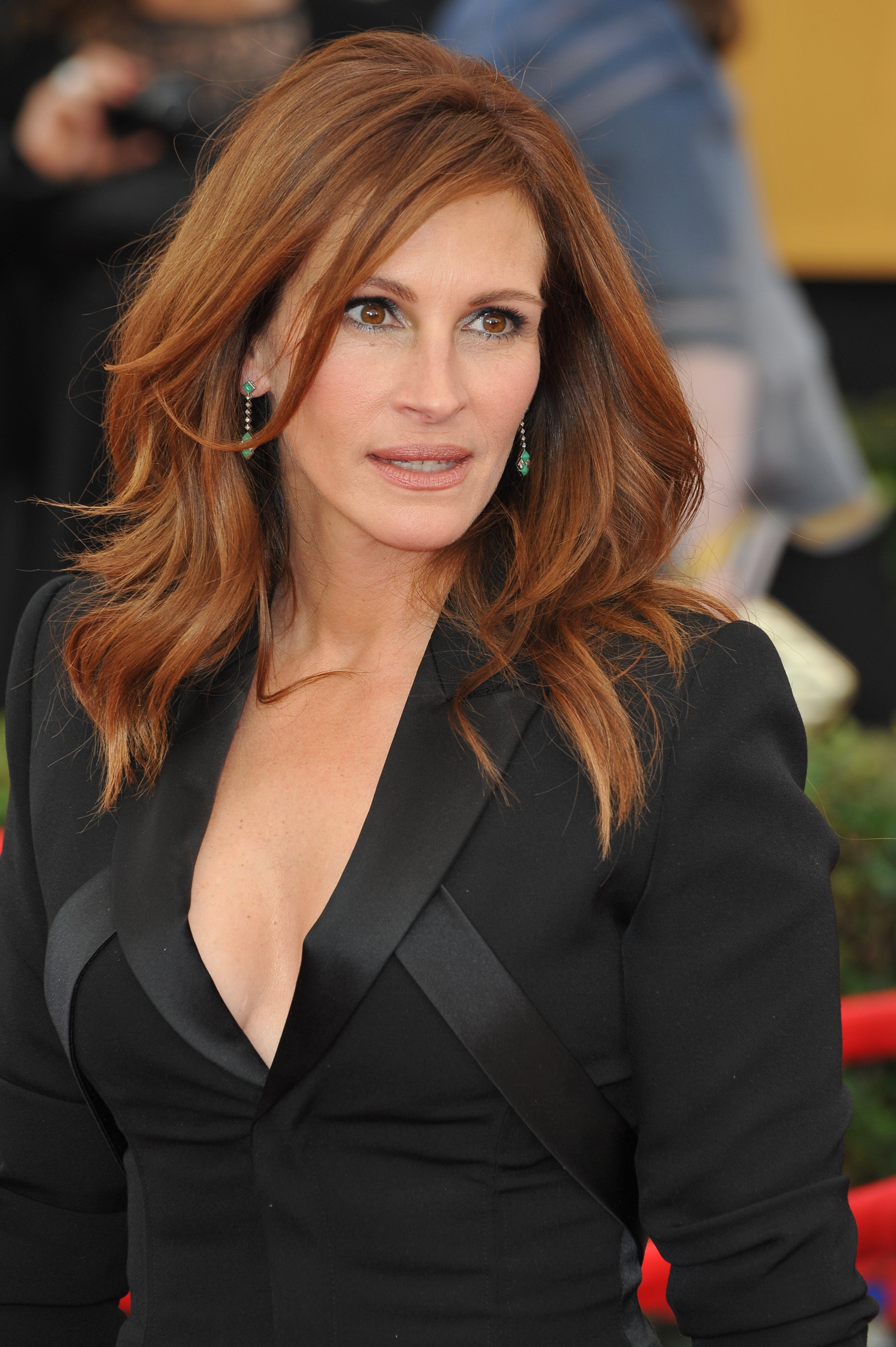 Julia Roberts at the 2015 Screen Actors Guild Awards at the Shrine Auditorium. | Source: Shutterstock.
