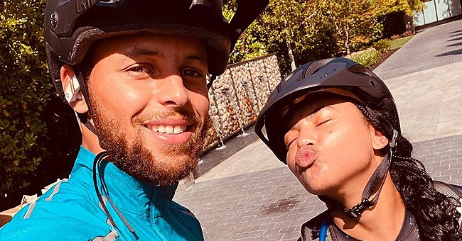Steph and Ayesha Curry Enjoy an Early Morning Bike Date in Adorable New Photos
