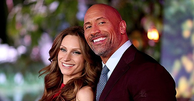 Dwayne Johnson's Wife Lauren Hashian Shares Photo of Their Little Daughters Adorably Hugging Each Other