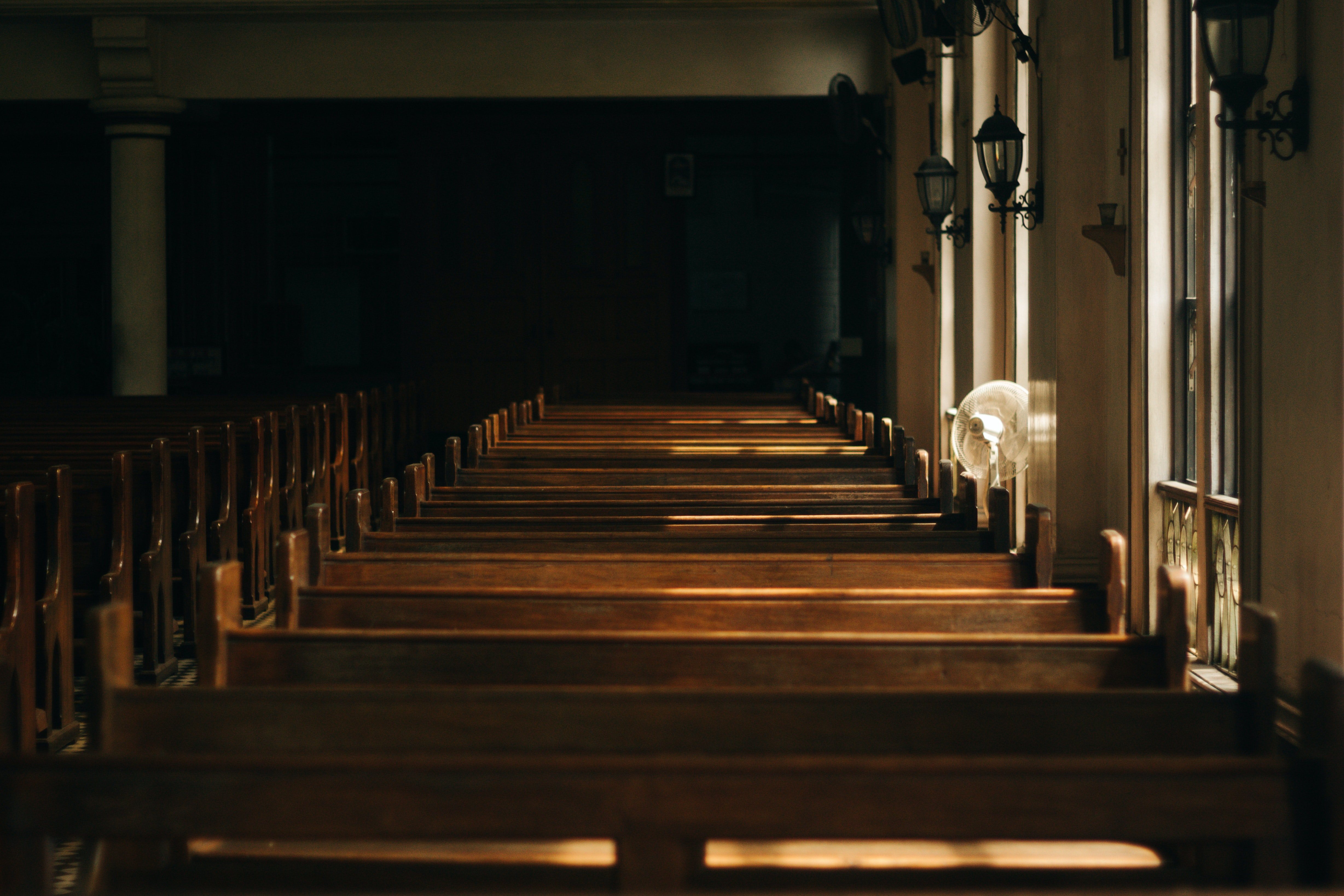 Laura started going to church   Source: Pexels
