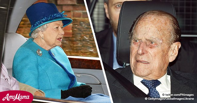 Queen driven without wearing a seatbelt again after Prince Philip apologizes to crash victim