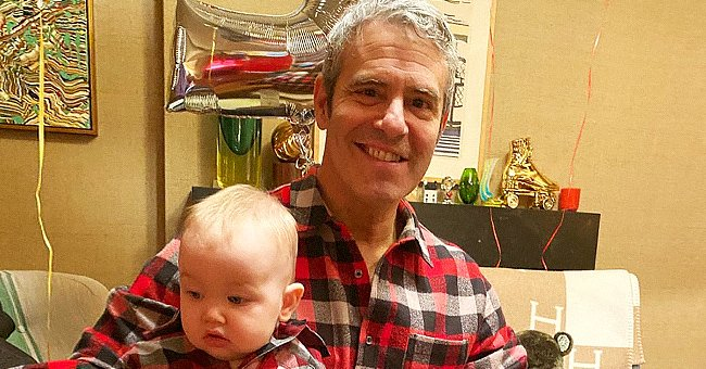 Andy Cohen Shares a Sweet Photo with Anderson Cooper's Son Wyatt to Celebrate His First Birthday