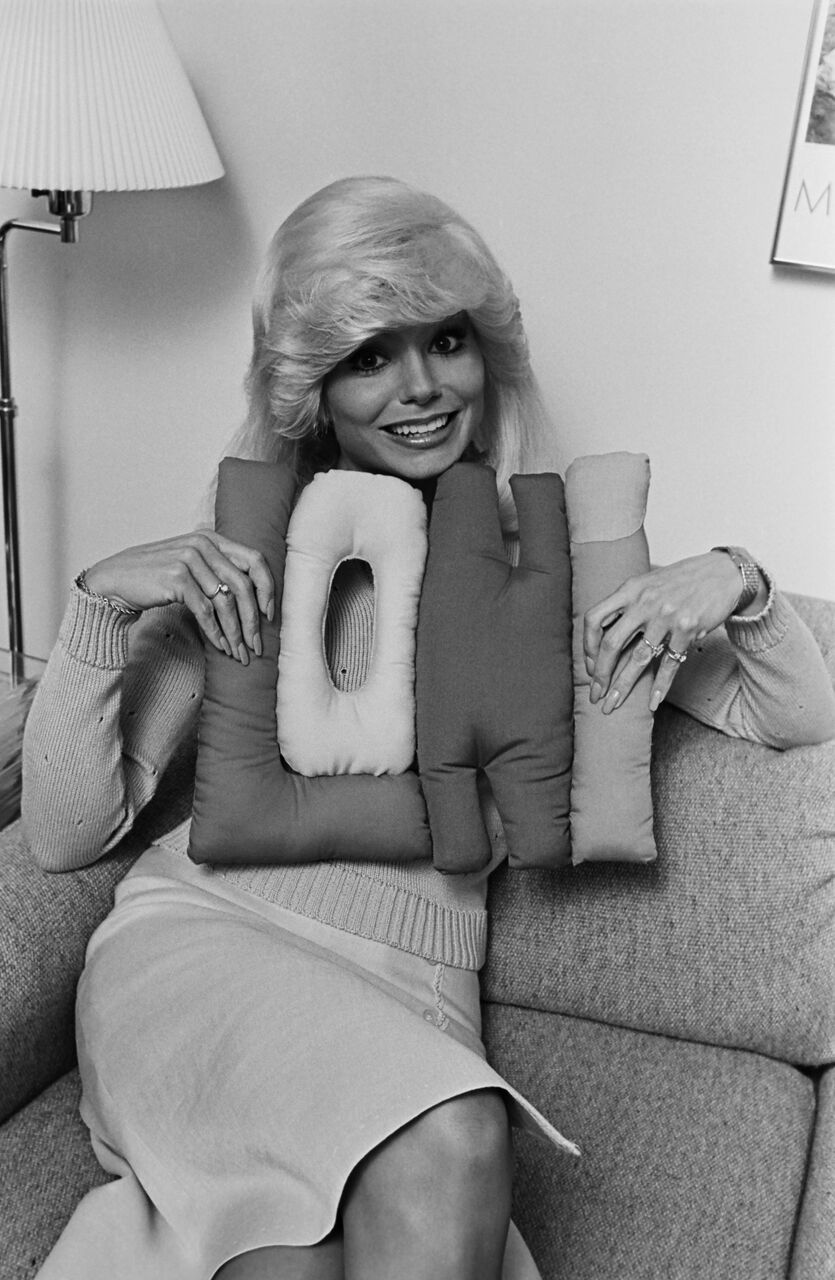 "Loni Anderson, star of the hit TV show ""WKRP in Cincinnati."" 