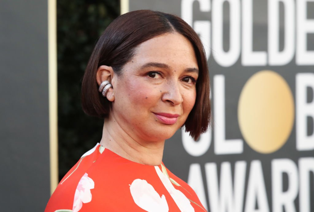 Maya Rudolph at the 78th Annual Golden Globe Awards on February 28, 2021 in Beverly Hills, California   Photo: Getty Images