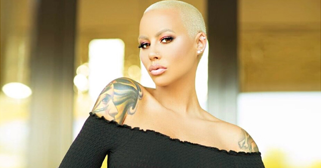 Amber Rose Shares New Photos of Her Newborn Son Slash Electric