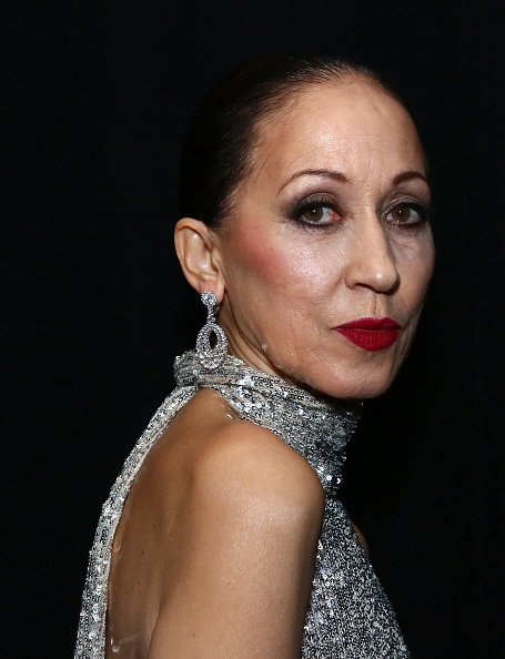 Pat Cleveland poses backstage for TRESemme at the Naeem Khan show during NYFW on February 12, 2019, in New York City. | Source: Getty Images.