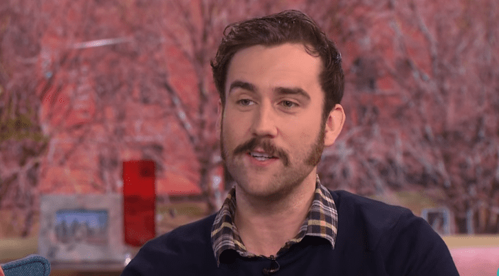 Matthew Lewis during an interview | Photo: Youtube /  This Morning