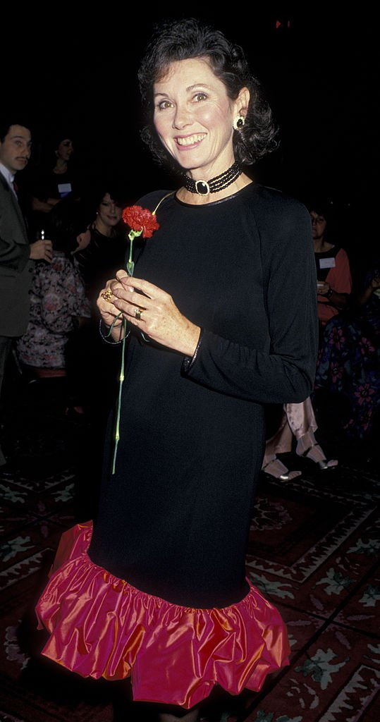 Elinor Donahue at Partnership for a Drug Free America Press Conference on November 8, 1987 | Photo: Getty Images
