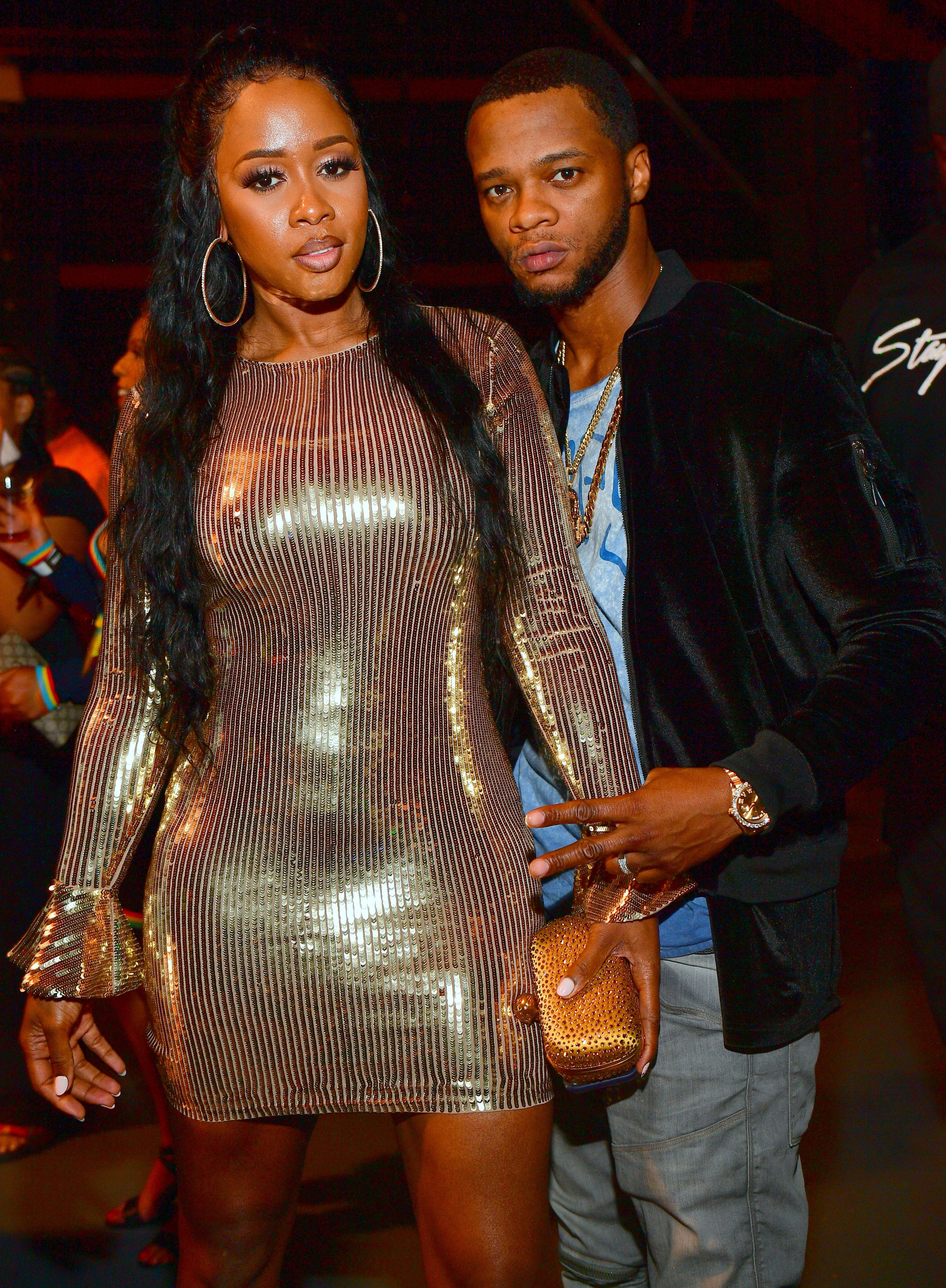 Remy Ma and Papoose at Teyana Taylor's Album Release Party at Universal Studios Hollywood on June 21, 2018 | Photo: Getty Images