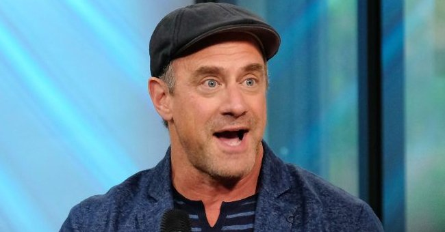 See Christopher Meloni's Reaction to Viral Photos of Him Wearing Super Tight Pants on 'Law & Order' Set