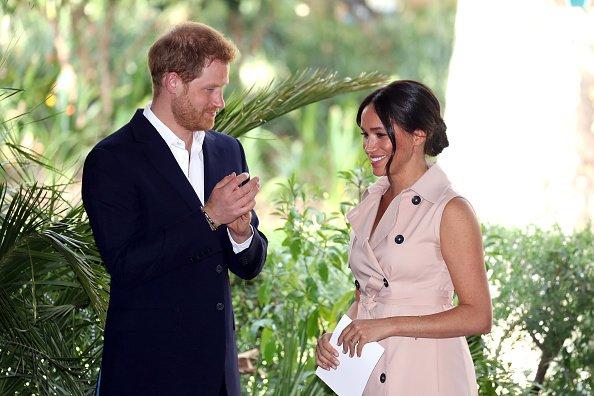 Prince Harry, le duc de Sussex et Meghan, la duchesse de Sussex assistent à une réception des industries créatives et des entreprises |Photo: Getty Images