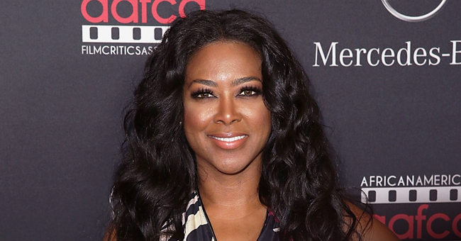 Kenya Moore's Baby Brooklyn Smiles & Shows off Her Crawl on 8-Month Birthday