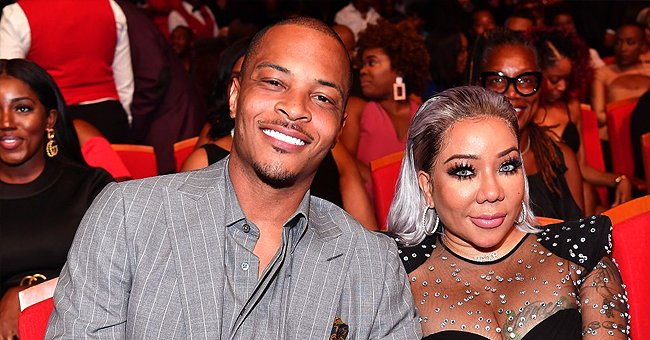 TI and Daughter Heiress Harris Showed up to Support Tiny at the R&B Replay Concert in Atlanta