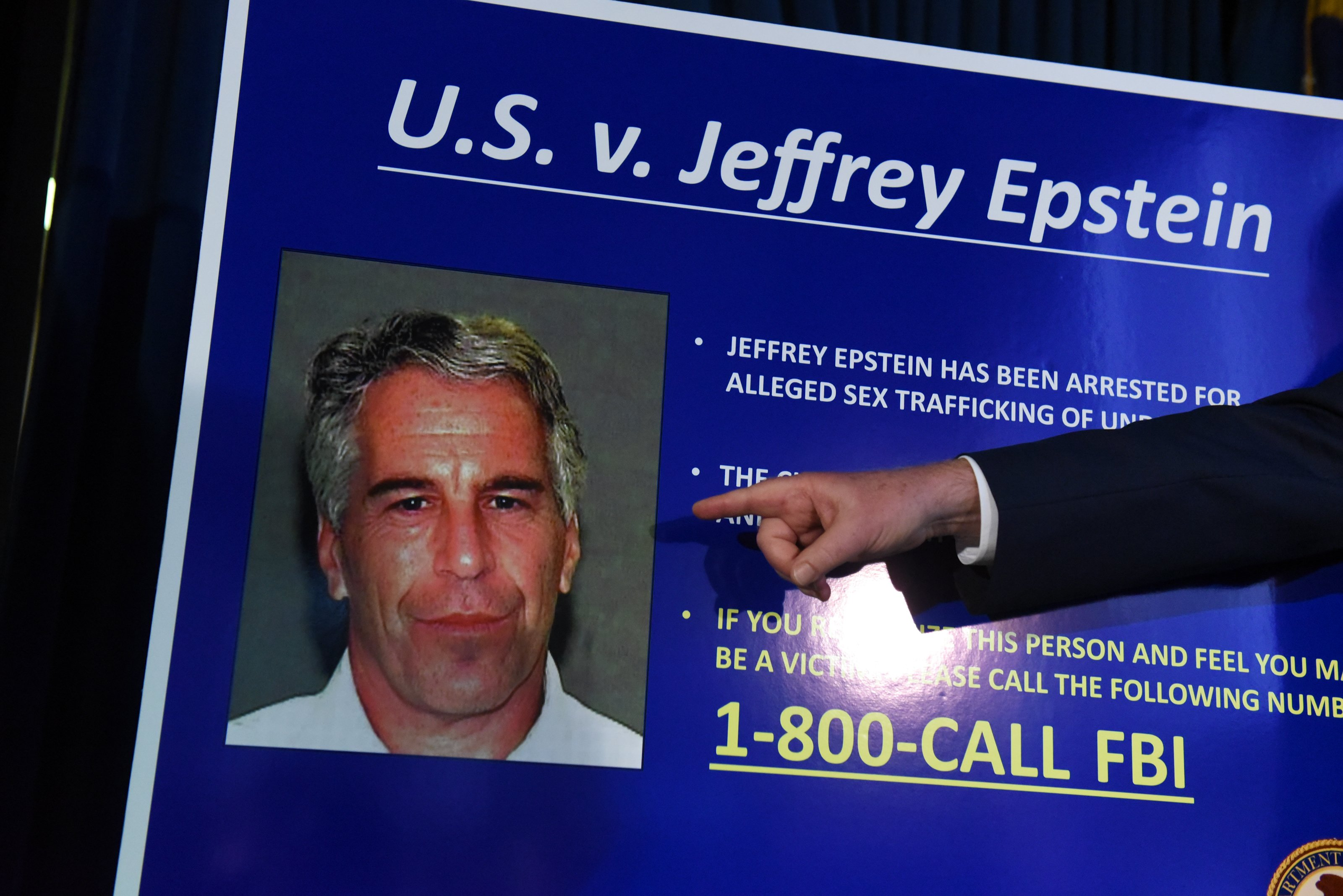 US Attorney Geoffrey Berman announces charges against Jeffery Epstein in New York City | Photo: Getty Images