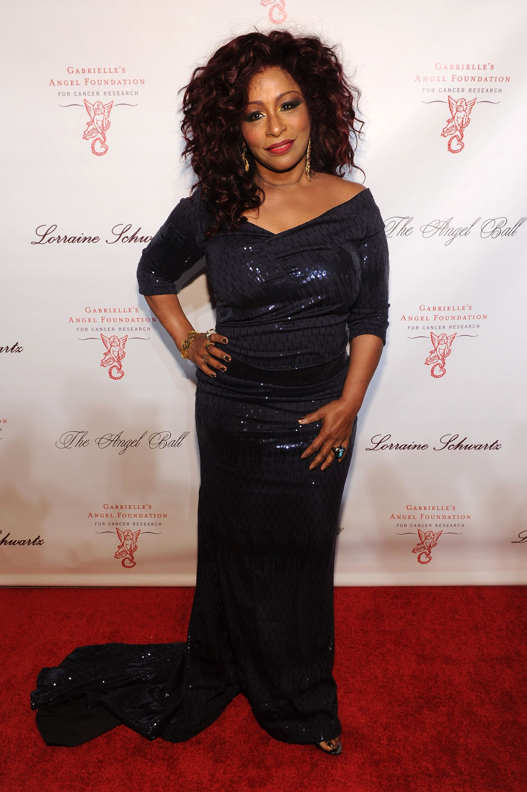 Musician Chaka Khan attends Gabrielle's Angel Foundation's Angel Ball 2013 at Cipriani Wall Street on October 29, 2013.   Source: Getty Images