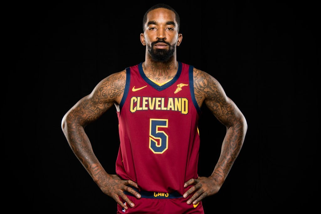 J.R. Smith #5 of the Cleveland Cavaliers on Media Day at Cleveland Clinic Courts on Sept. 24, 2018 in Ohio | Photo: Getty Images