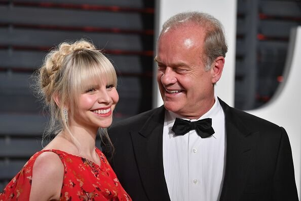 Kayte Walsh and Kelsey Grammer at the 2017 Vanity Fair Oscar Party in Los Angeles | Source: Getty Images