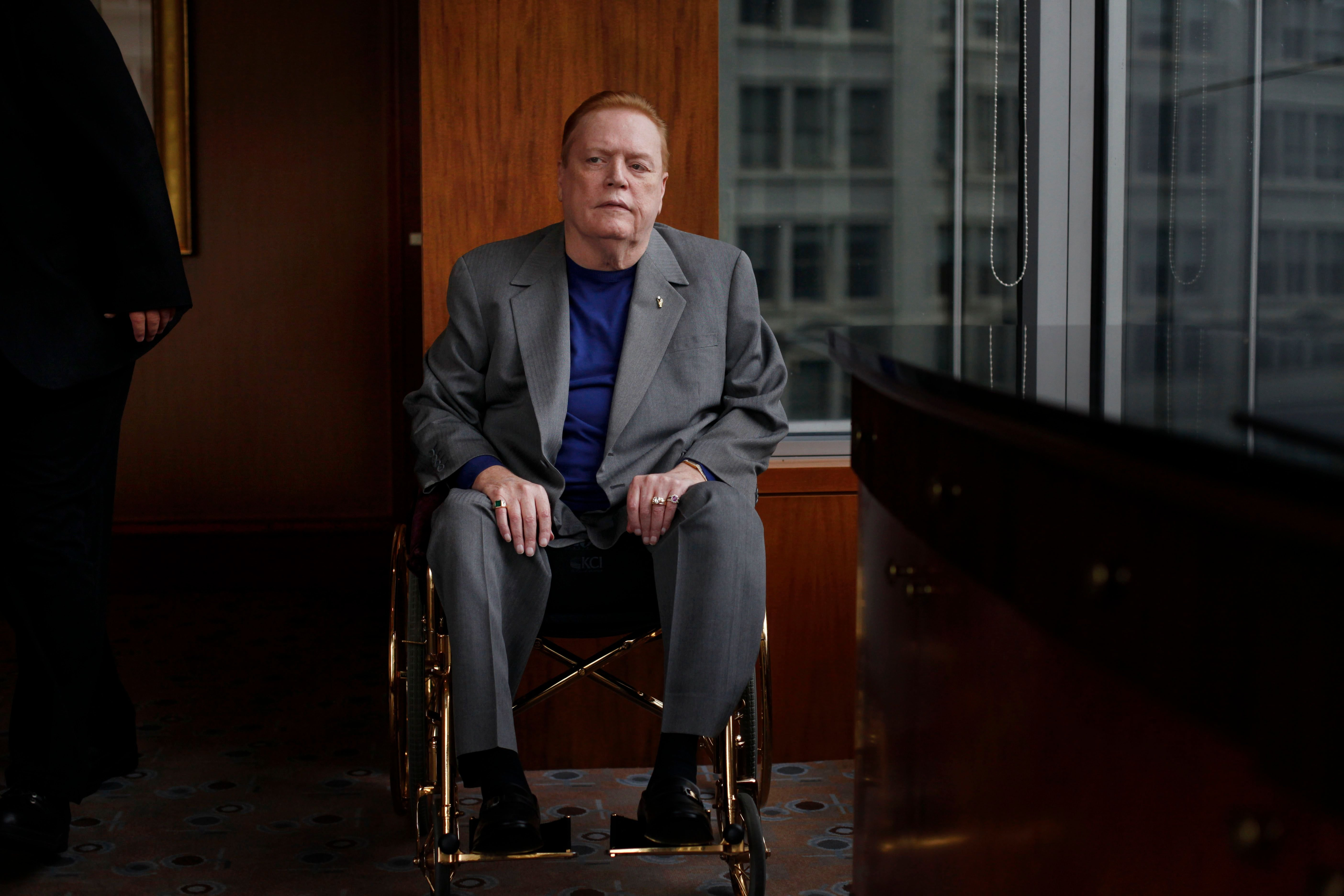 Larry Flynt sits for a portrait at the Four Seasons Hotel on Friday May 13, 2011. | Photo: Getty Images