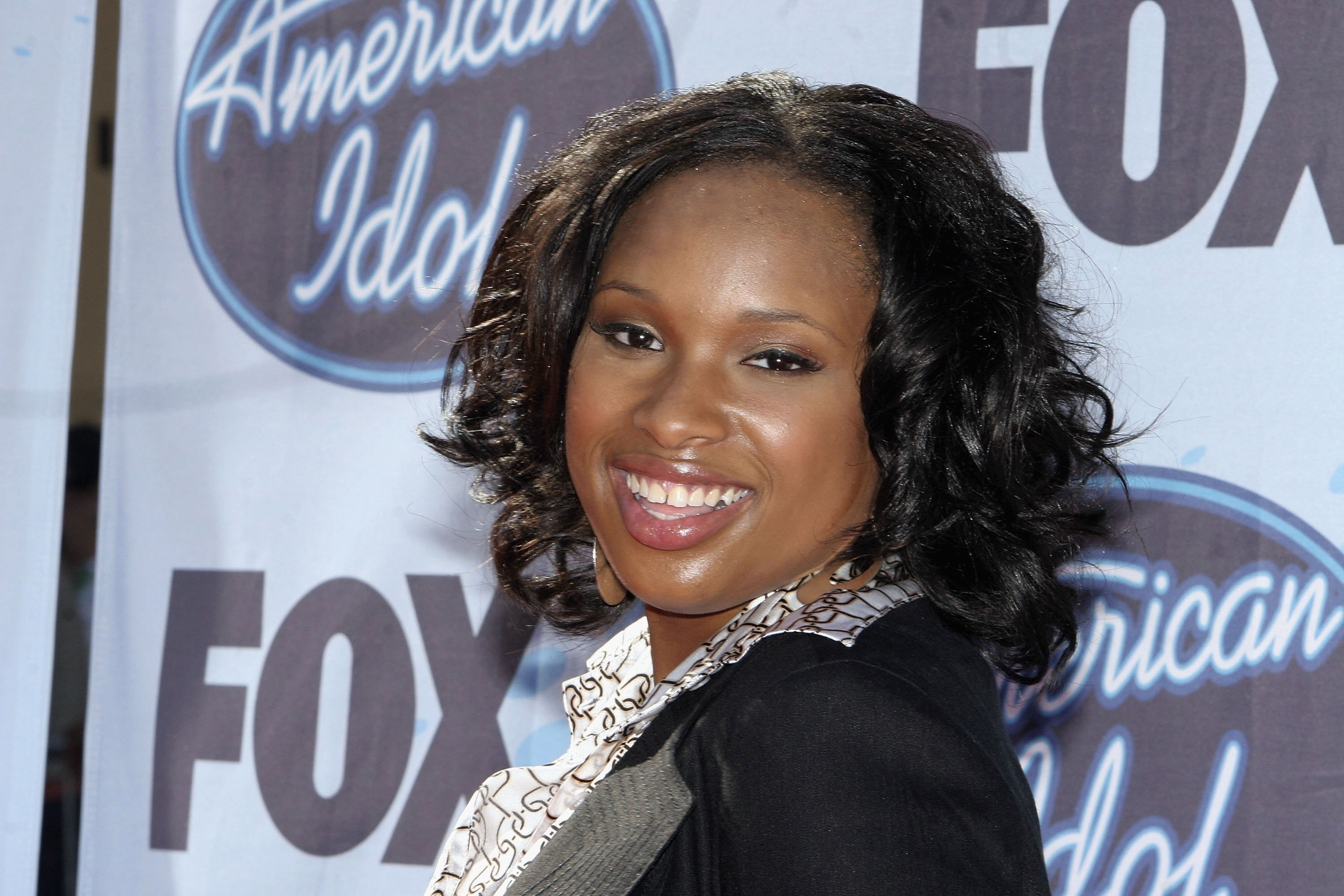 "Jennifer Hudson when she competed on ""American Idol"" 