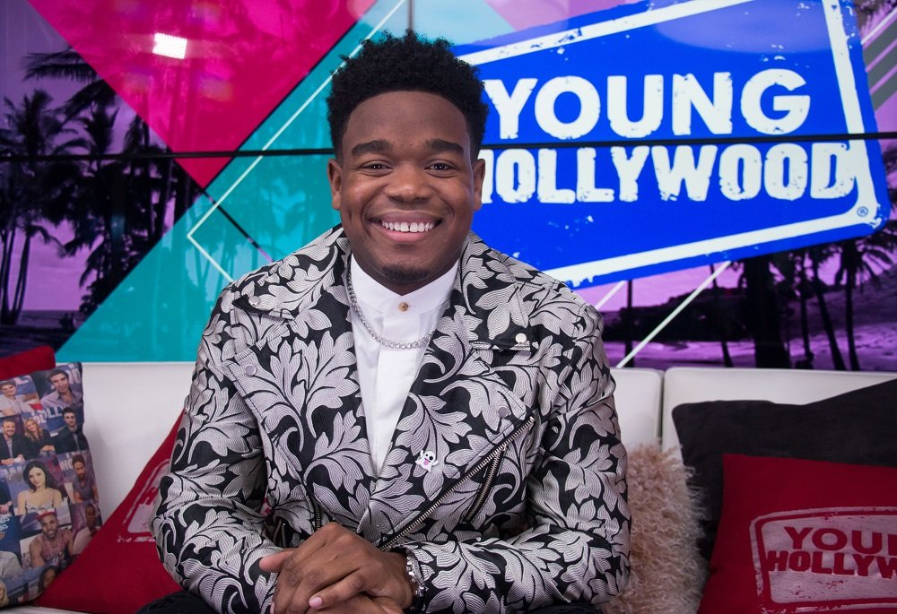 Dexter Darden visiting the Young Hollywood Studio in Los Angeles, California, in January 2017. | Image: Getty Images.