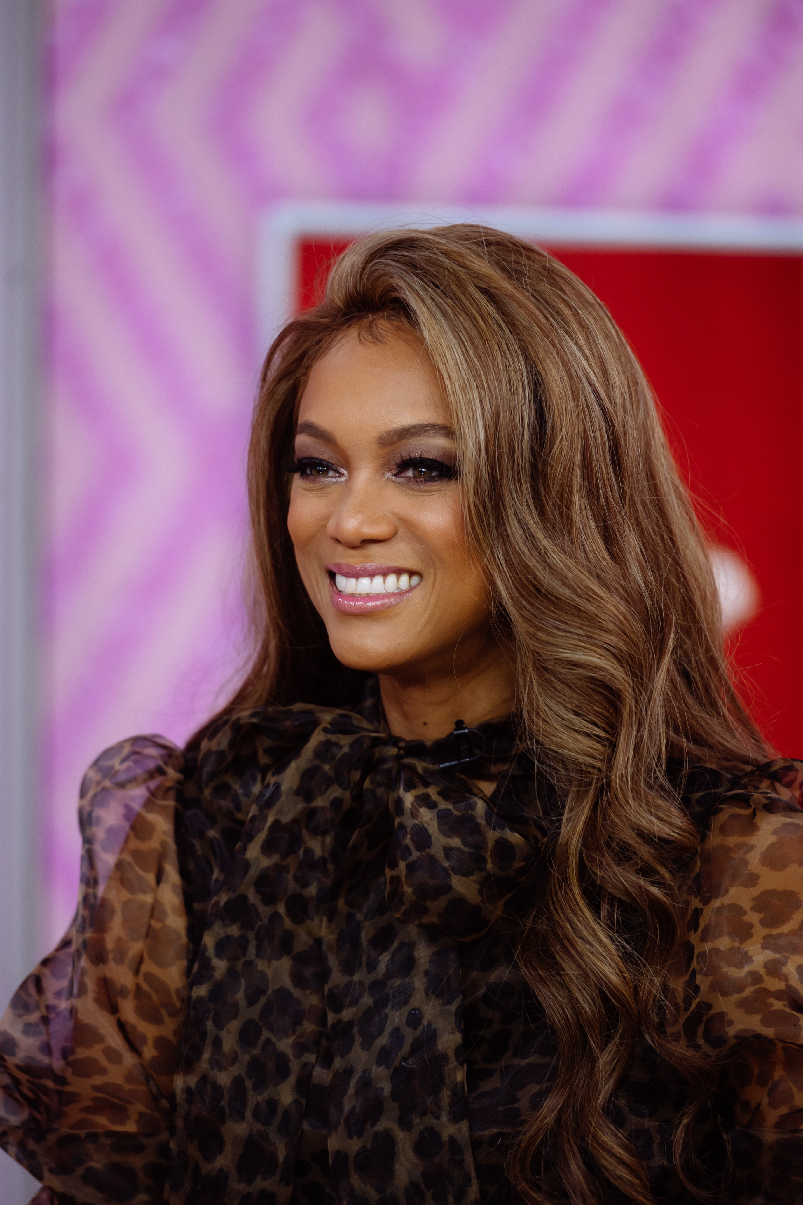 "Tyra Banks appears on the ""Today Show"" on November 30, 2018 