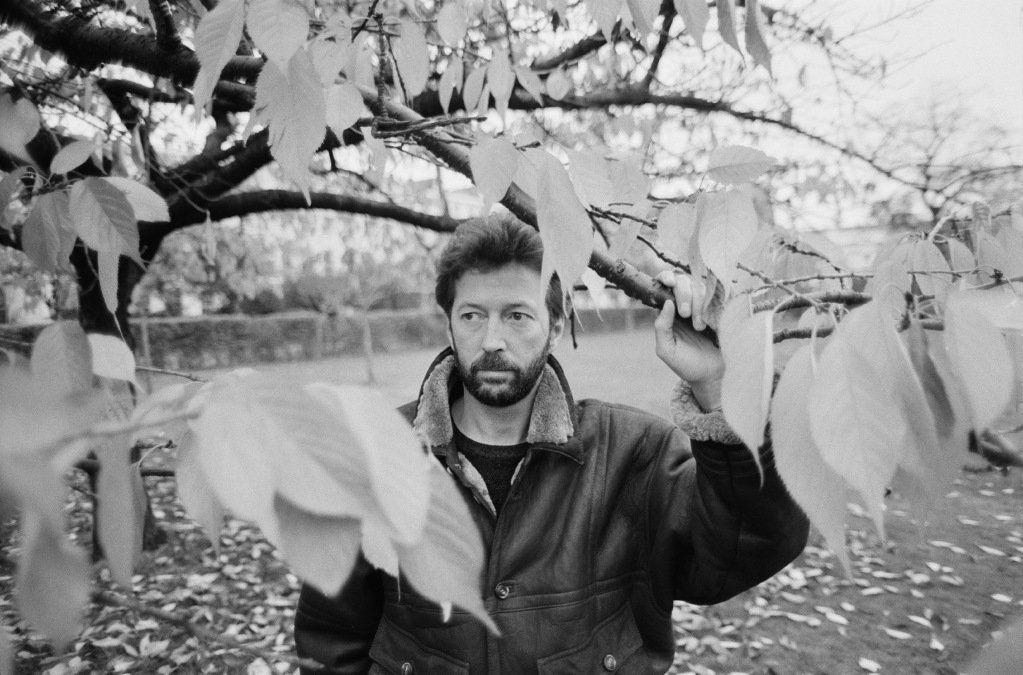 Eric Clapton, December 1986. | Source: Getty Images