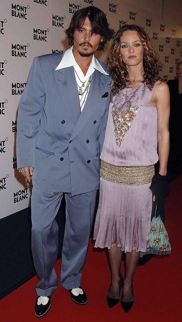 Johnny Depp et Vanessa Paradis en 2006. Photo : Getty Images