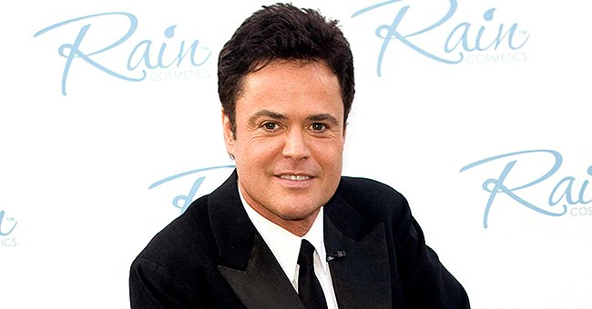 Check Out This Great Black and White Pic of Donny Osmond's Entire Family