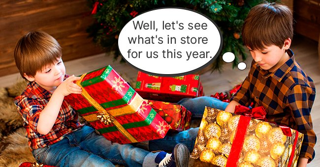 Daily Joke: Two Brothers Arguing about Grandma's Christmas Presents