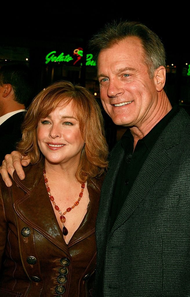 Stephen Collins and his wife Faye Grant at Grauman's Chinese Theater on December 6, 2006 | Photo: Getty Images