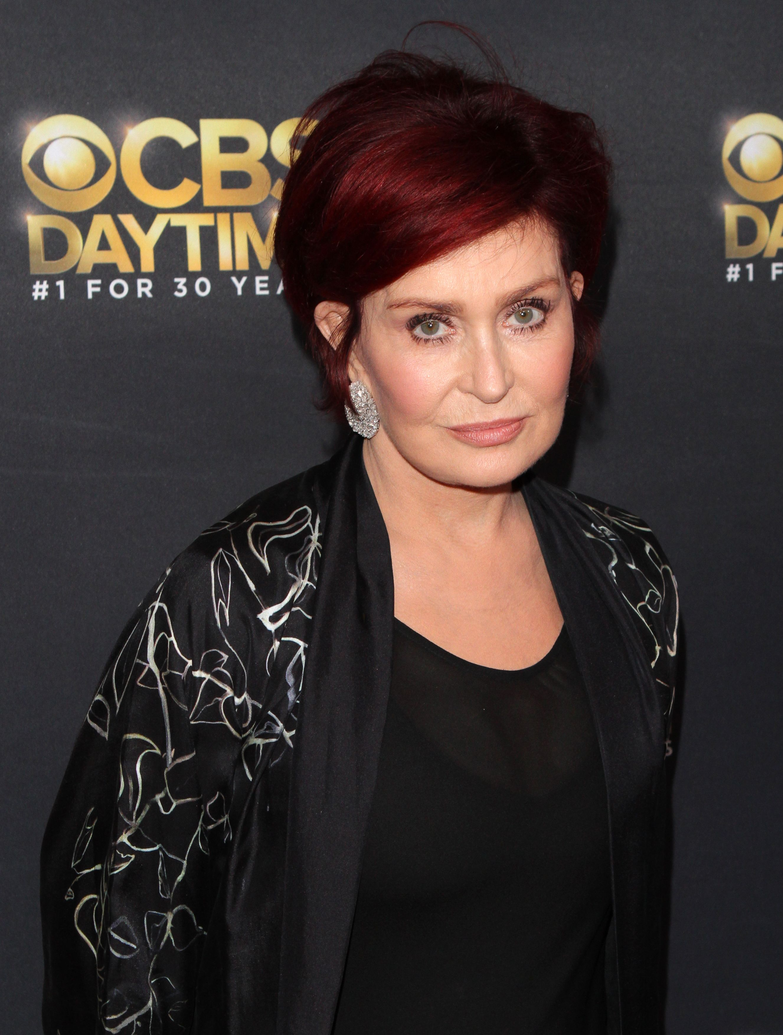 Sharon Osbourne attends the CBS Daytime Emmy after party at Pasadena Civic Auditorium on April 30, 2017. | Photo: Getty Images