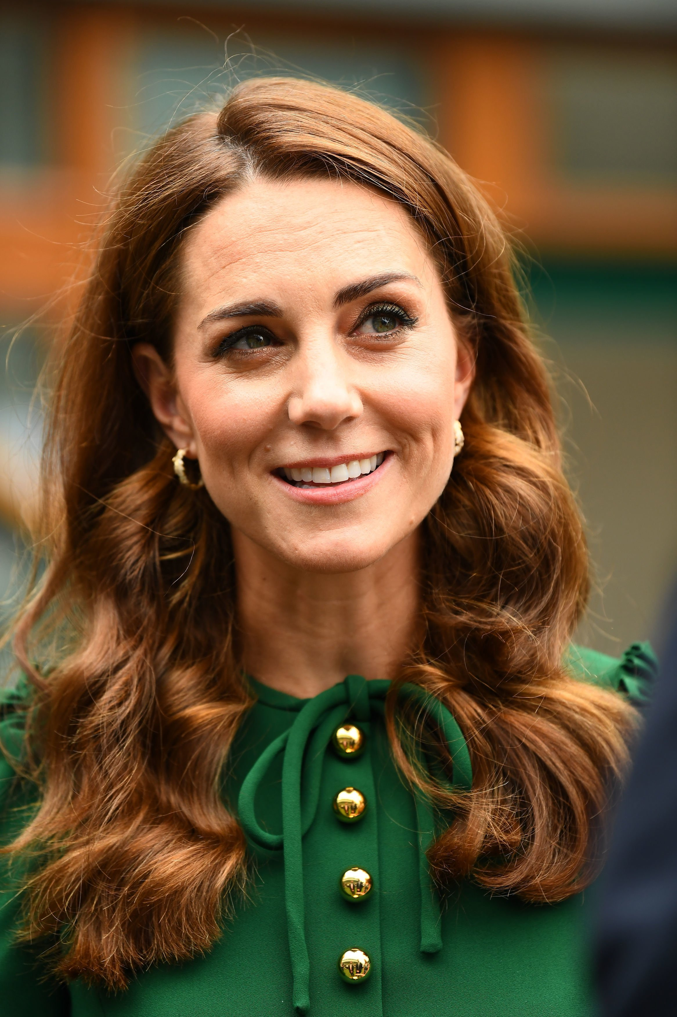 Duchess Kate at Wimbledon on July 13, 2019 | Photo: Getty Images