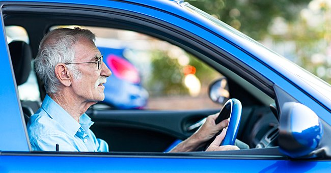 Daily Joke: An Old Man Was Driving Too Fast and Was Stopped by Police