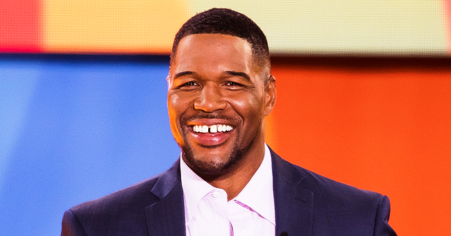 Michael Strahan Shares Adorable Photo of His Twin Daughters Sophia and Isabella Rocking Matching Braids