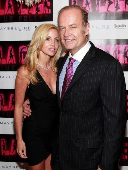 Camille Donatacci Grammer and Kelsey Grammer at Providence on April 18, 2010 in New York City | Photo: Getty Images