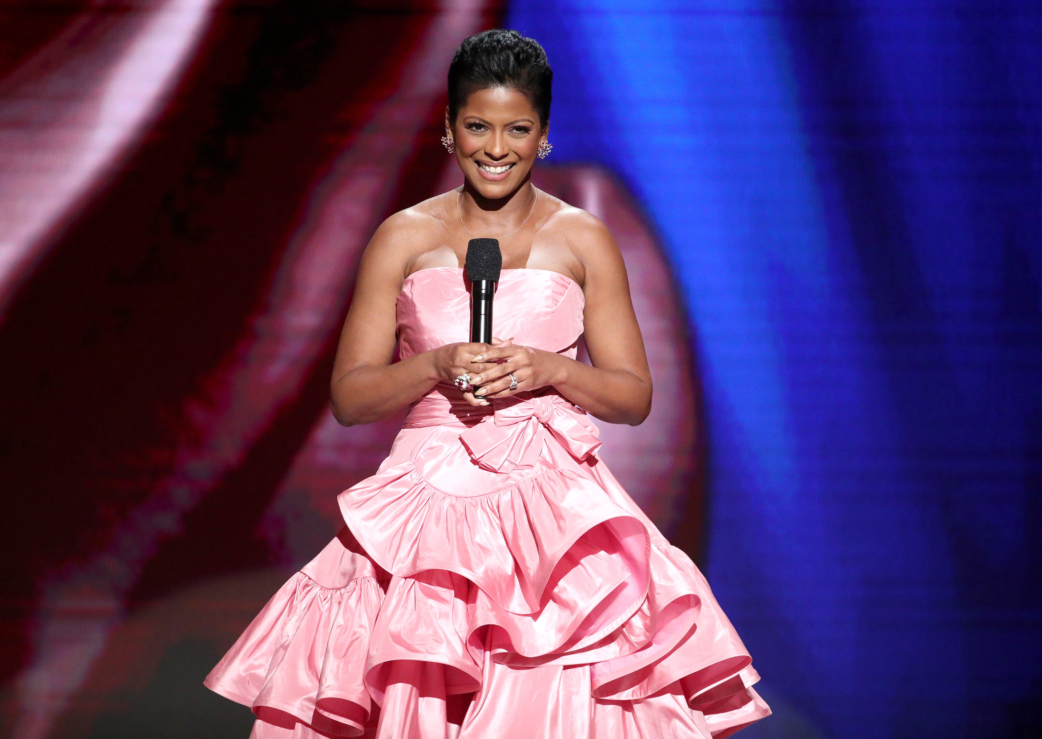 Tamron Hall pictured at the 51st NAACP Image Awards at Pasadena Civic Auditorium on February 22, 2020 in Pasadena, California. | Source: Getty Images
