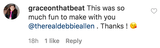 """A fan commented on a photo of Debbie Allen and a group of young girls from the """"Debbie Allen Dance Academy""""  Source: Instagram.com/therealdebbieallen"""