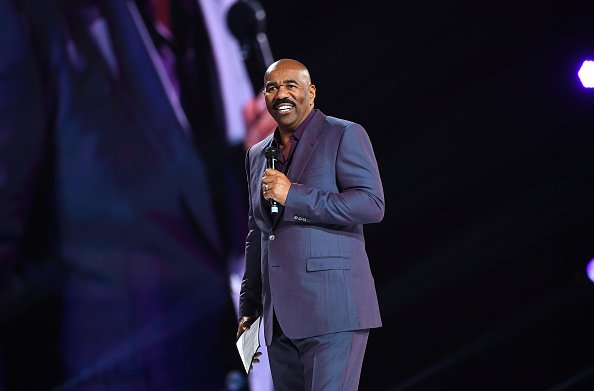 Steve Harvey at Mercedes-Benz Stadium on March 21, 2019 | Photo: Getty Images